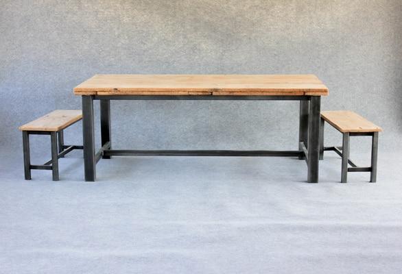 Table manger et bancs sur mesure - Table a manger sur mesure ...