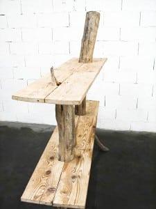 Etagere bois flotte detail louise et marcel for Etagere en bois flotte