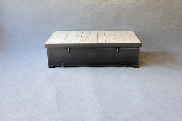 Table basse caisson