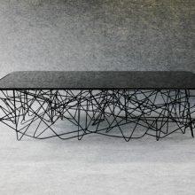 Table Basse Sinusoïde
